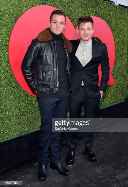 Stephen Puth and Charlie Puth attend the 2018 GQ Men of the Year Party at a private residence on December 6, 2018 in Beverly Hills, California.
