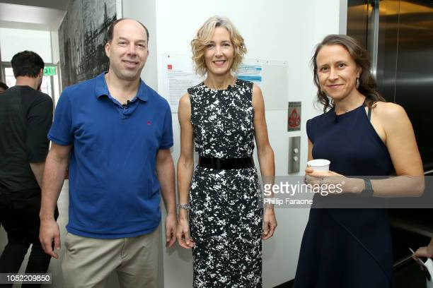 Stephen Quake Jane Metcalfe and Anne Wojcicki attend WIRED25 Summit WIRED Celebrates 25th Anniversary With Tech Icons Of The Past Future on October...