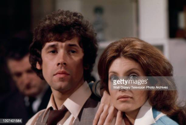 Stephen Rea Gayle Hunnicutt appearing in the ABC tv series 'Wide World of Entertainment' episode 'K is for Killing''