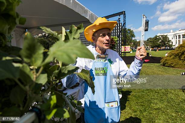 Stephen Ritz of the Green Bronx Machine at the 'South By South Lawn' SXSL festival on October 3 2016 in Washington DC The White House Festival is...