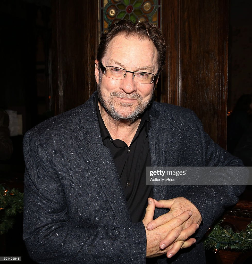 Stephen Root attends the opening night after party for the Playwrights Horizons New York premiere production of 'Marjorie Prime' at Tir Na Nog Irish Pub & Grill on December 14, 2015 in New York City.