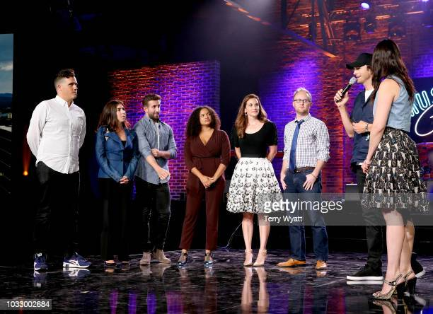 Stephen Rose of The Peach Truck Stephanie Benedetto of Queen of Raw Anthony Brahimsha of Prommus Janett Liriano of Loomia Melissa Long of Ground...