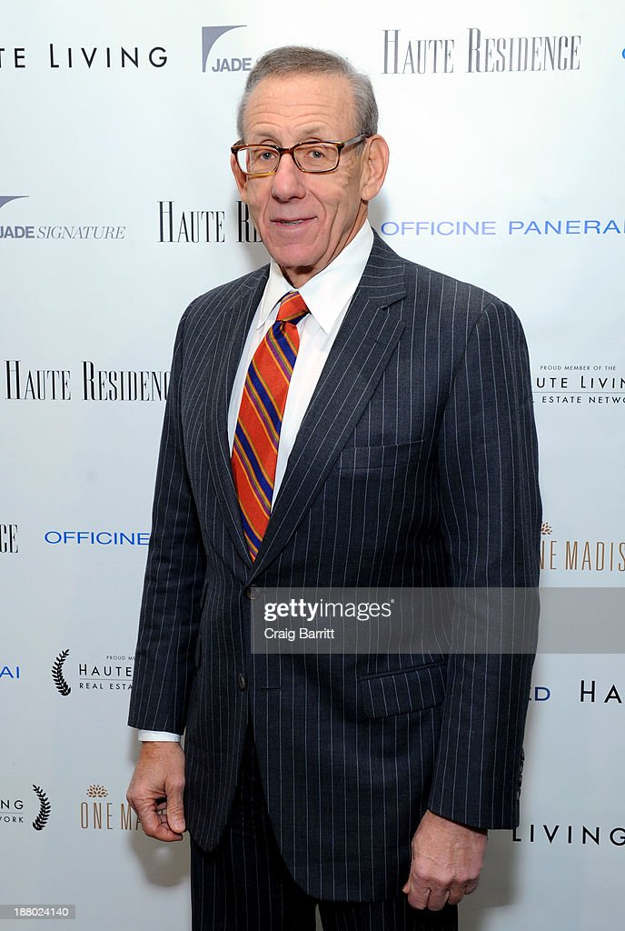 Stephen Ross attends the Haute Living New York City Real Estate Summit on November 14, 2013 in New York City.