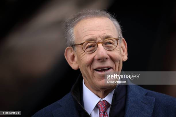 Stephen Ross chairman and majority owner of the Related Companies attends the grand opening of phase one of the Hudson Yards development on the West...