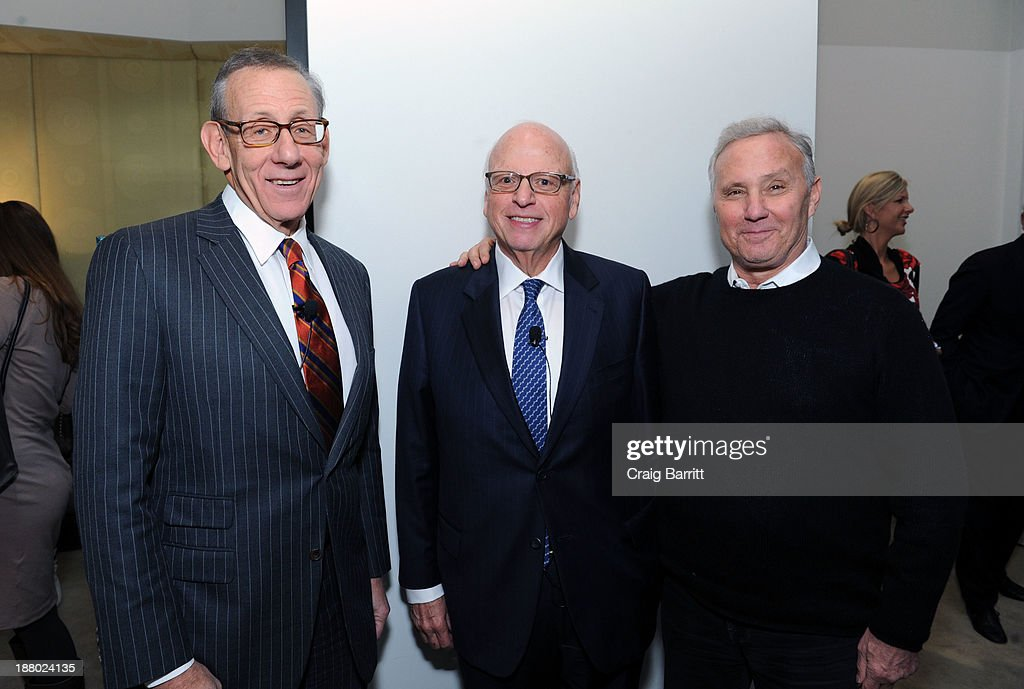 Stephen Ross, Howard Lorber and Ian Schrager attends the Haute Living New York City Real Estate Summit on November 14, 2013 in New York City.