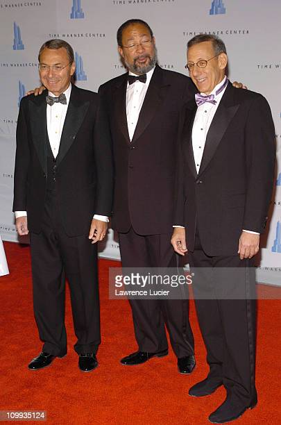 Stephen Ross, Richard Parsons and William Mack during Grand Opening Celebration of Time Warner Center at Time Warner Center in New York City, New...