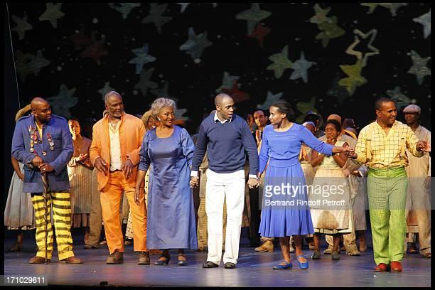 Stephen Salters Willard White Grace Bumbry Kazem Abdullah Adina Aaron Stanley Jackson at The Opening Night Of The Opera Treemonisha By Scott Jopin At...