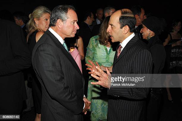 Stephen Schwarzman and Akbar Al Baker attend QATAR AIRWAYS Gala Event to Celebrate Inaugural Flights to NYC at Frederick P Rose Hall on June 28 2007...