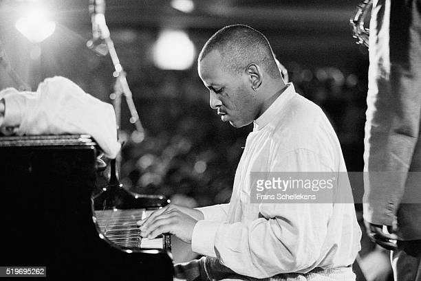 Stephen Scott, piano, performs on July 15th 1995 at the North Sea Jazz Festival, The Hague, Netherlands.