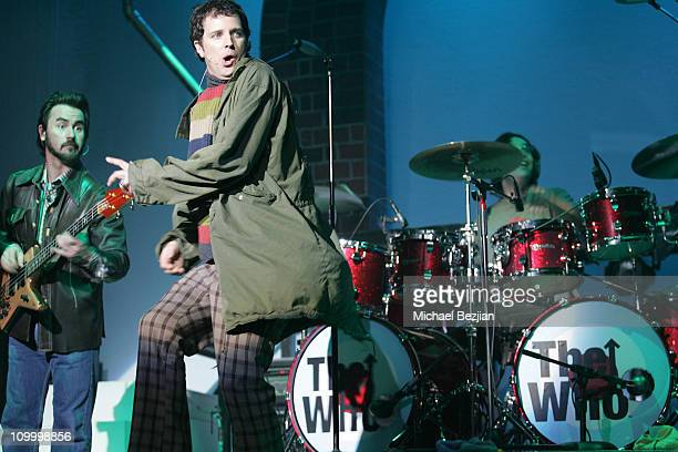 Stephen Shareaux during Quadrophenia Musical Theatre Performance at The Avalon in Hollywood California United States