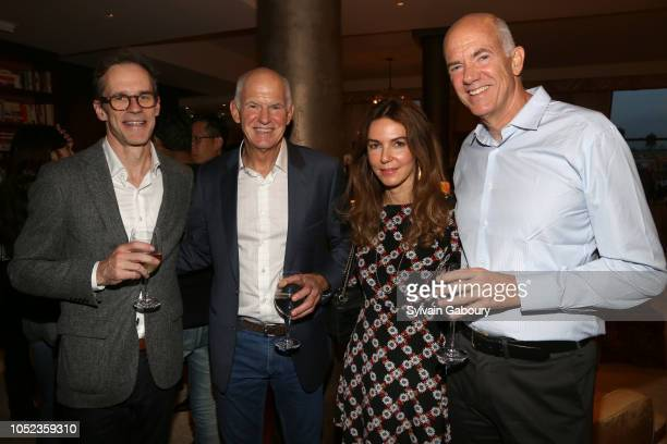 Stephen Sherill George Papandreou Marianthi AlexiouPapandreou and Andreas Papandreou attend Book Launch Party For 'AI Superpowers' By KaiFu Lee...