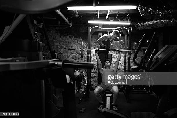 Stephen Snyder-Hill and his husband Josh work out in the basement of their Columbus, Ohio home 5 times each week and run when the weather is nice....