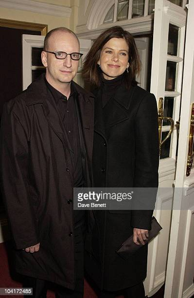 Stephen Soderbergh And Girl Friend Charity Screening And Party For The Movie Ôsolaris' Hosted By Harpers And Queen In Aid Of Ôfacing The World' A...