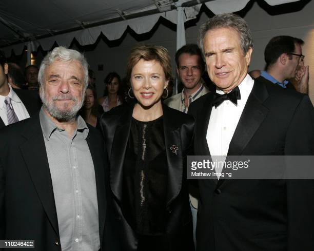 Stephen Sondheim Annette Bening and Warren Beatty