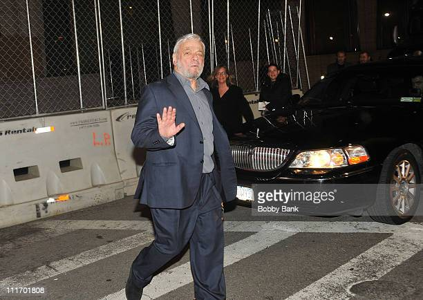 Stephen Sondheim attends the New York Philharmonic presents 'Sondheim The Birthday Concert' at Avery Fisher Hall at Lincoln Center for the Performing...