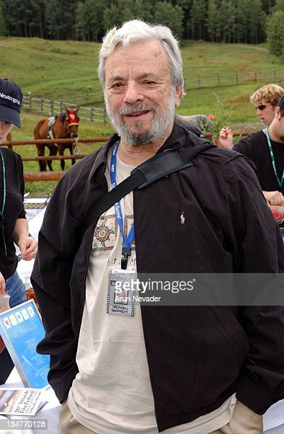 Stephen Sondheim during 30th Telluride Film Festival Patrons' Brunch at Skyline Ranch in Telluride Colorado United States