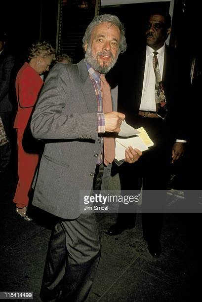 Stephen Sondheim during Opening Night Party for Passion May 9 1994 at Sardi's Restaurant in New York City New York United States