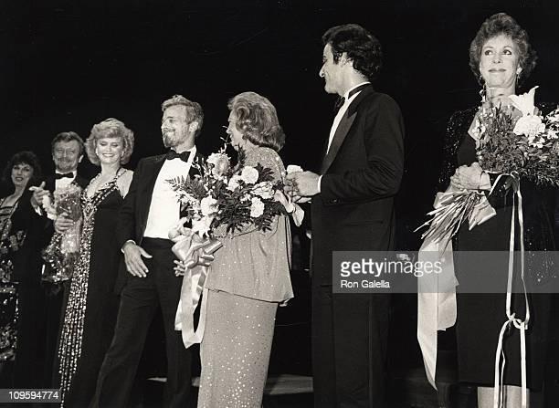 Stephen Sondheim Phyllis Newman Lee Remick and Carol Burnett