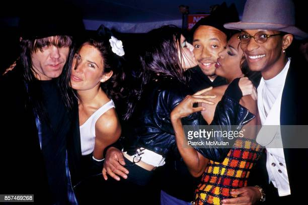 Stephen Sprouse Elizabeth Saltzman Russell Simmons Victor Matthews 'Don't Bungle the Jungle' Benefit Amazon NYC 1991 Kiss