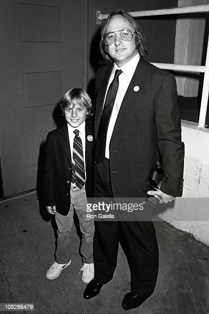 Stephen Stills and Son during Stephen Stills Sighting at Hollywood Palladium August 1 1983 at Hollywood Palladium in Hollywood California United...