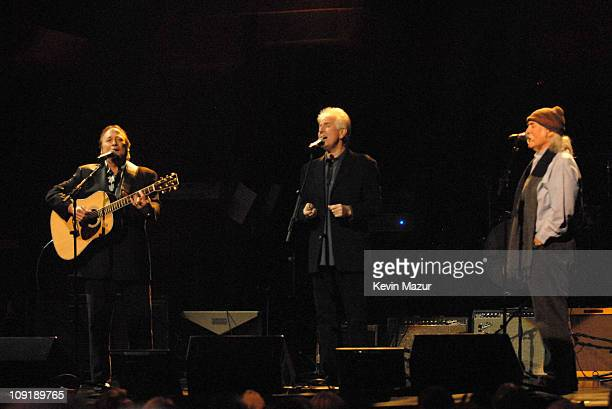 Stephen Stills Graham Nash and David Crosby of Crosby Stills and Nash