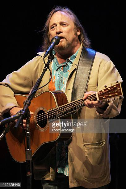 Stephen Stills of Crosby, Stills, Nash and Young during 19th Annual Bridge School Benefit Concert - Day One at Shoreline Amphitheatre in Mountain...