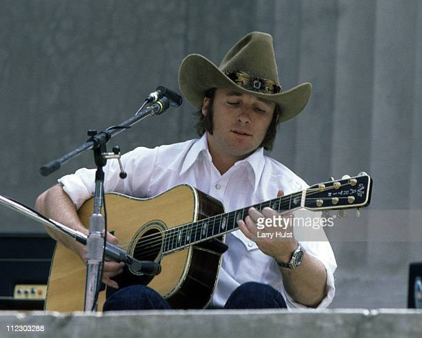 Stephen Stills performs at the Greek Theater in Berkeley California on October 6 1979