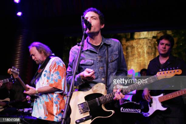 Stephen Stills performs with Jakob Dylan of The Wallflowers