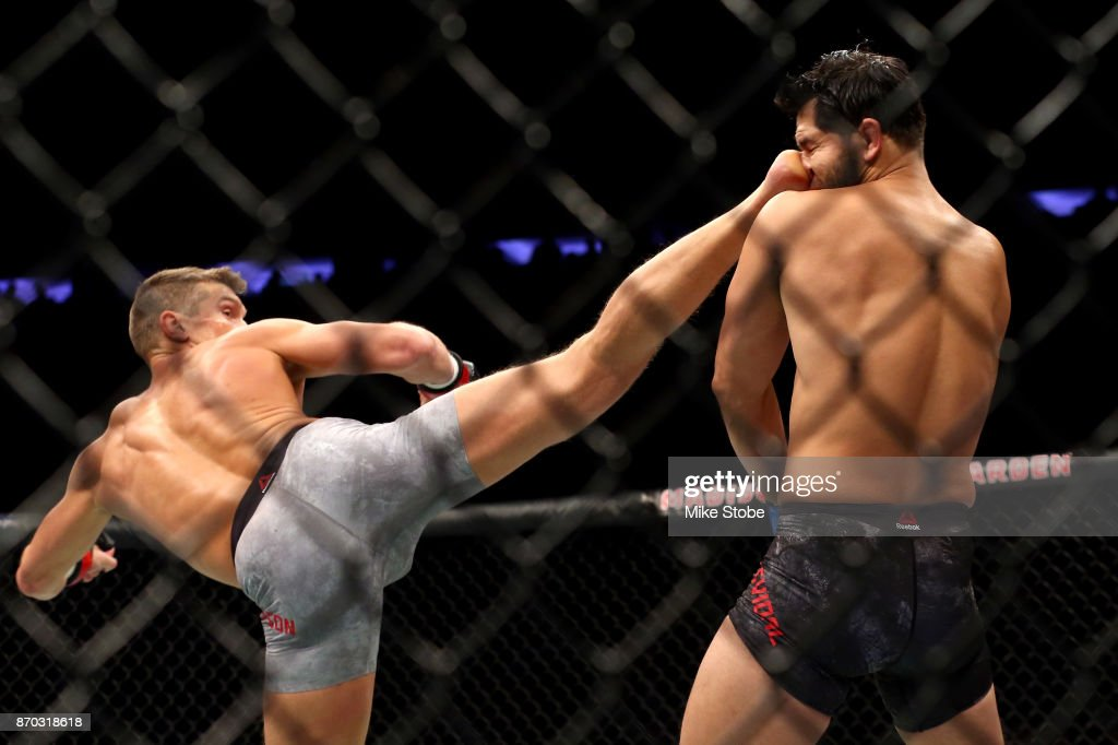 UFC 217: Bisping v St-Pierre