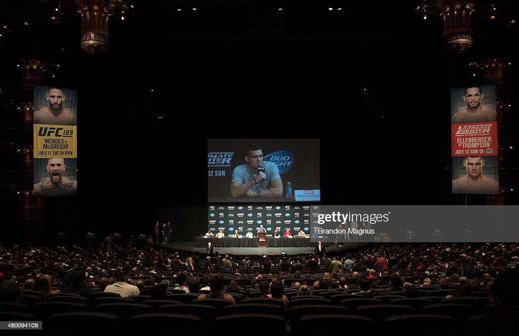UFC 189 & TUF Finale Press Conference