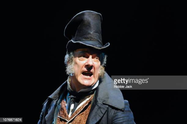 Stephen Tompkinson as Ebenezer Scrooge in Jack Thorne'u2019s adaptation of Charles Dickens'u2019 A Christmas Carol directed by Matthew Warchus at The...