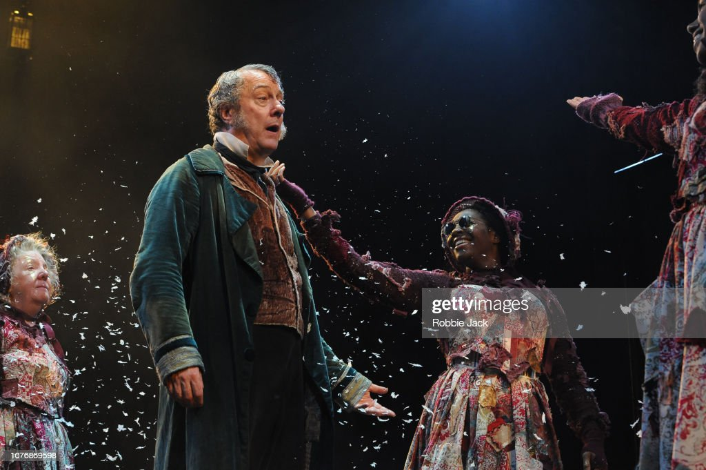 A Christmas Carol At The Old Vic Theatre London : News Photo