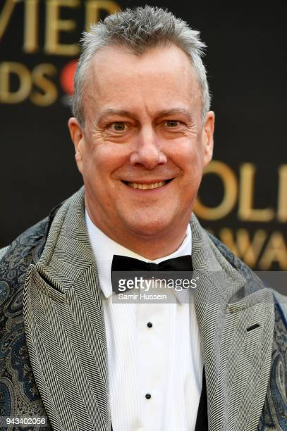 Stephen Tompkinson attends The Olivier Awards with Mastercard at Royal Albert Hall on April 8 2018 in London England