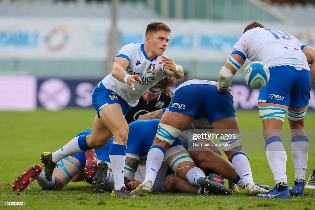 Italy v Scotland - Autumn Nations Cup : News Photo
