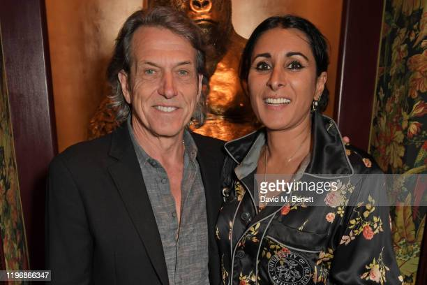 Stephen Webster and Serena Rees attend the 'Country Town House Great British Brands' party at Annabel's on January 27 2020 in London England