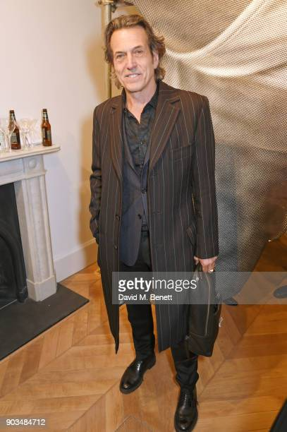 """Stephen Webster attends the private view of """"JR: Giants - Body of Work"""" at Lazinc on January 10, 2018 in London, England."""