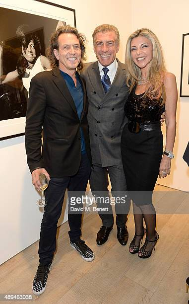 Stephen Webster Steve Varsano and Lisa Tchenguiz attend a private view of Rock Style a new exhibition curated by Tommy Hilfiger and Jeffrey Deitch at...