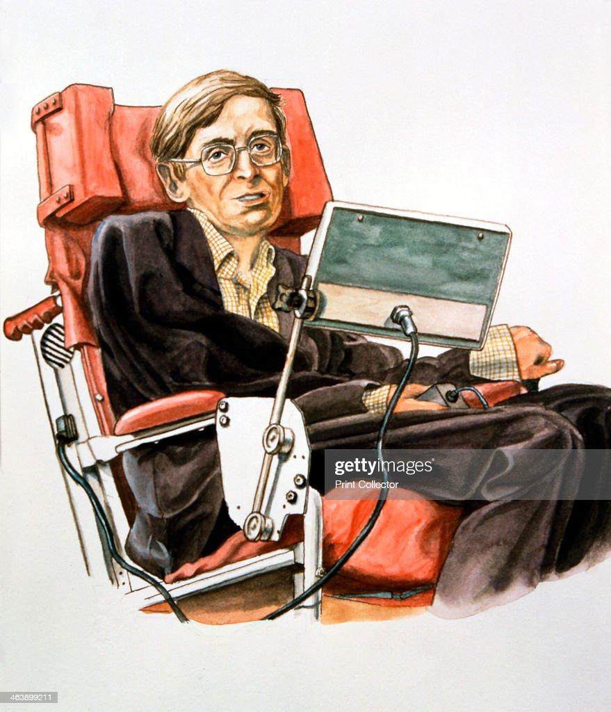 Stephen William Hawking (b.1942), British theoretical physicist. : Nachrichtenfoto