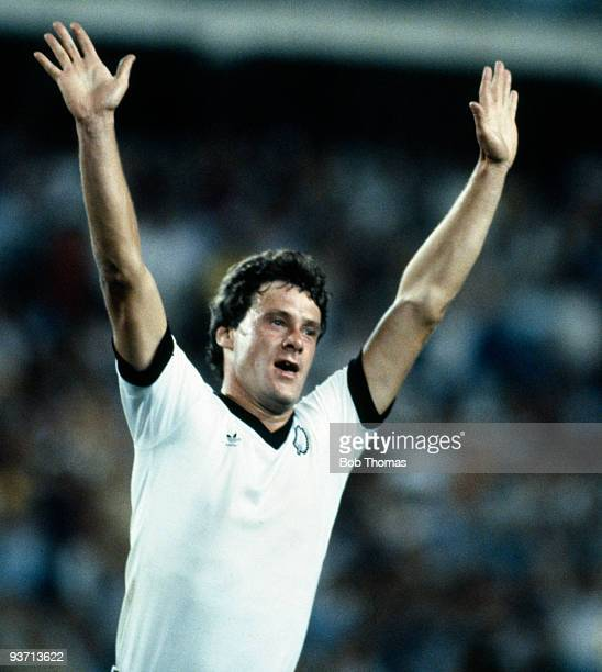 Stephen Wooddin of New Zealand celebrates after scoring his team's second goal during the Scotland v New Zealand World Cup match held in Malaga Spain...