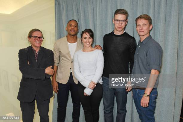 Stephen Woolley Reggie Yates Vicky McClure Will Poulter and Tom Harper attend the BAFTA Breakthrough Brits jury announcement at BAFTA Piccadilly on...