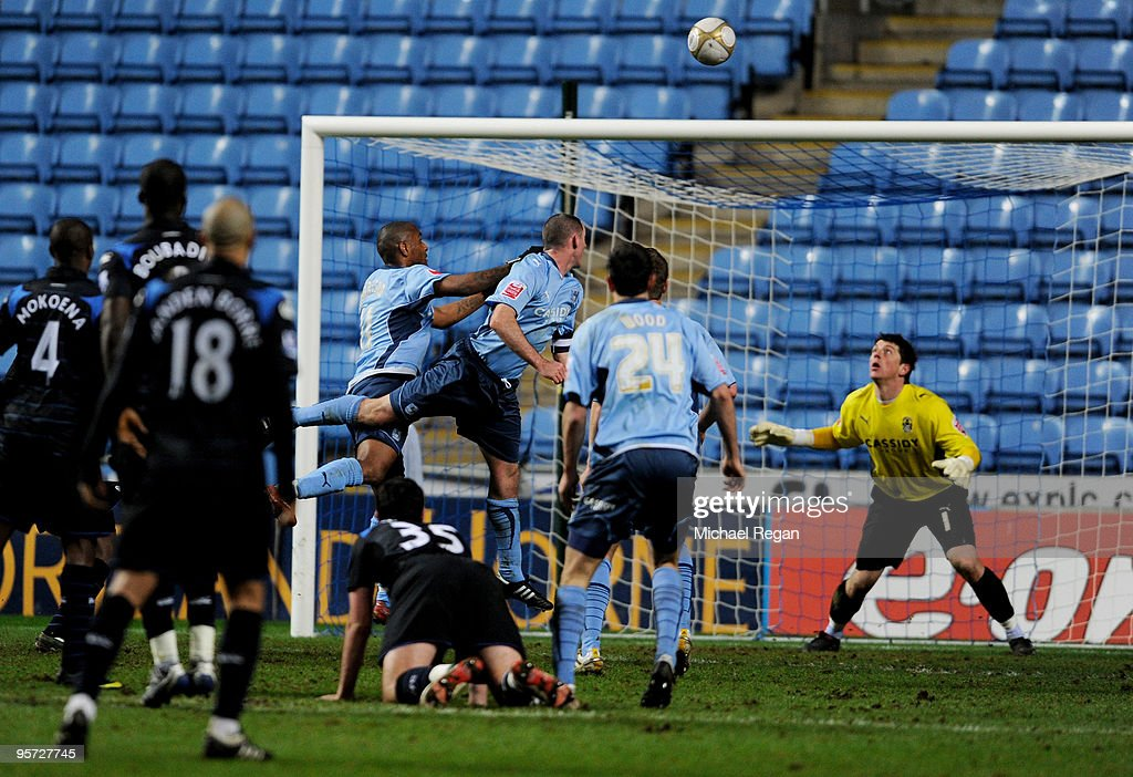 Coventry City v Portsmouth - FA Cup 3rd Round Replay