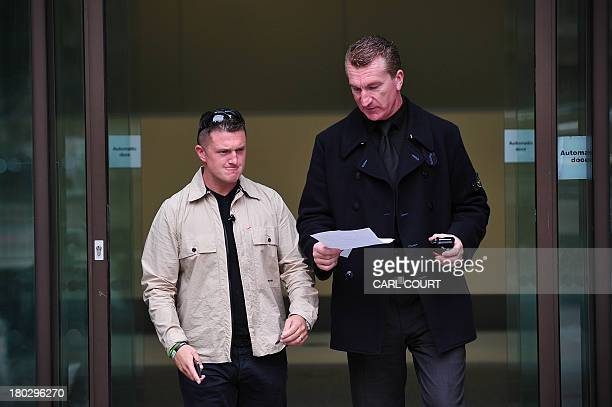 Stephen YaxleyLennon also known as Tommy Robinson the cofounder spokesman and leader of the English Defence League and EDL Deputy Leader Kevin...