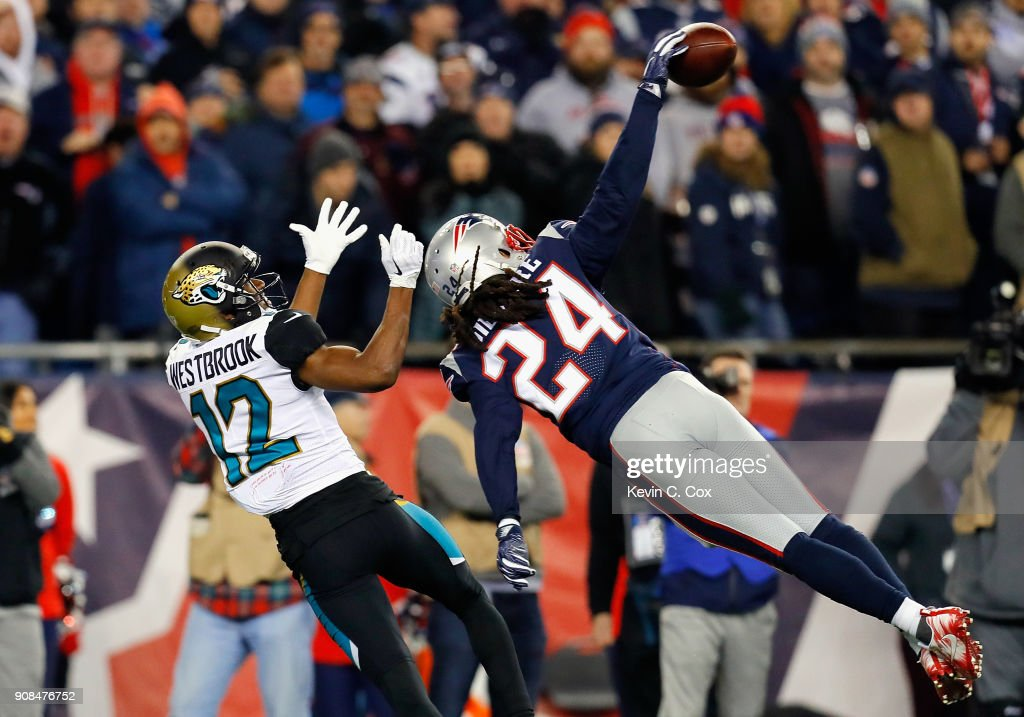 AFC Championship - Jacksonville Jaguars v New England Patriots : News Photo