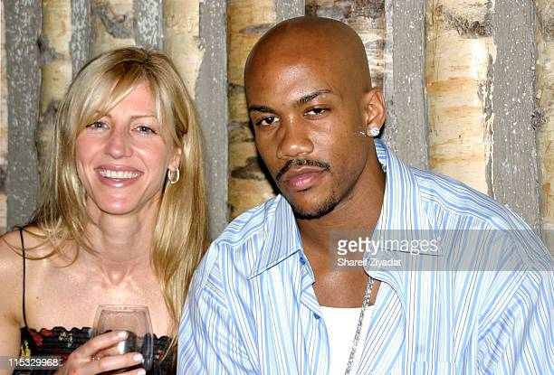 Stephon Marbury and Jessica during Celebrity Sightings At Club Butter at Butter in New York United States