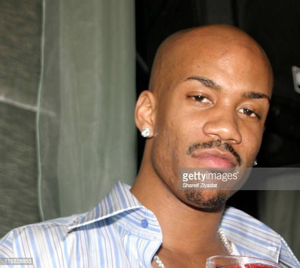 Stephon Marbury during Ja Rule Stephon Marbury and Nick Cannon at Darcy New York at Club Darcy in New York City New York United States
