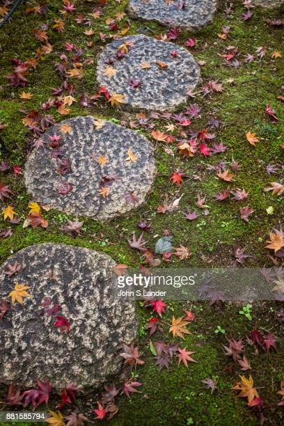 Stepping stones are called tobiishi in Japanese literally skipping stones or flying stones Walking on a stepping stone pathway the visitor has to...