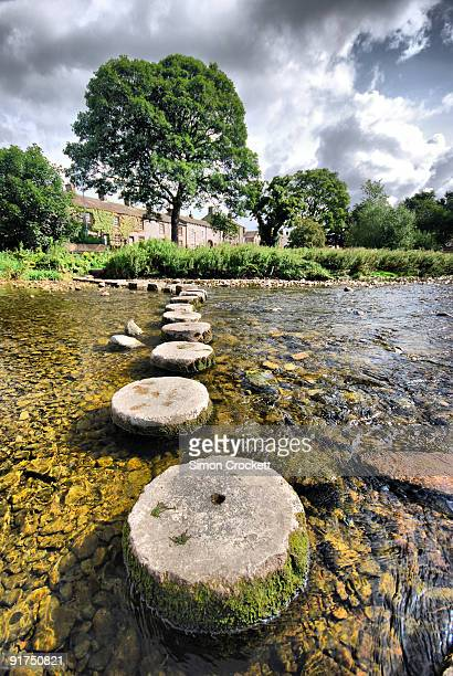 Stepping stones in Coniston Cold