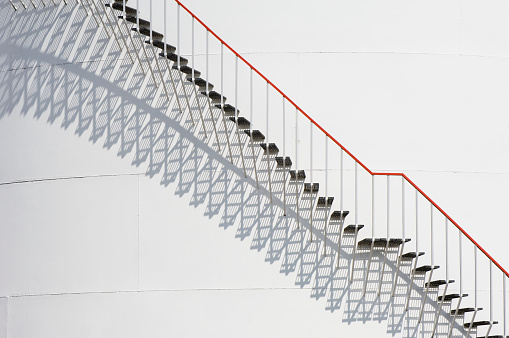 Steps And Shadows - gettyimageskorea