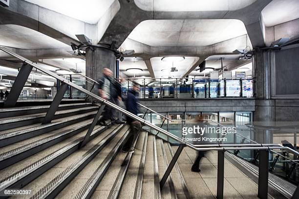 Steps at Westminster Underground Station