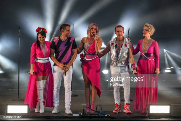 Steps during the Summer of Steps Tour 2018 featuring Steps at the Northern Echo Arena, Darlington, England on Sunday 27th May 2018.